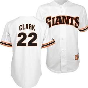 San Francisco Giants Will Clark #22 Cooperstown Replica