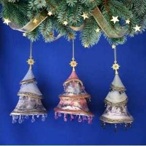 Thomas Kinkade *Christmas Tree Ornaments* SET of 3 From Kinkade