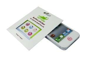4S iPad / itouch / iPod Home Button Stickers Cute M362