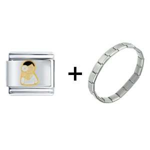 Eye Doctor Italian Charm Bracelet
