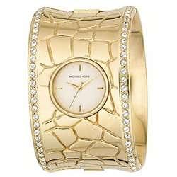 Michael Kors Womens Gold Cuff Watch
