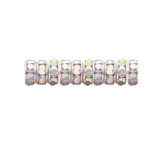 SWAROVSKI RHINESTONE CRYSTAL RONDEL SPACER BEADS more