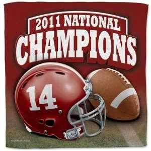NCAA Alabama Crimson Tide 2011 BCS National Champions 16 x 16
