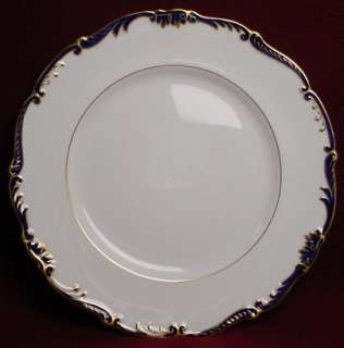 COALPORT china ADMIRAL Cobalt Blue 9235 BREAD PLATE