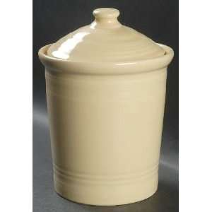 Homer Laughlin Fiesta Ivory Medium Canister, Fine China Dinnerware