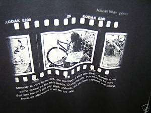 HITMAN will RIDE for food old school BMX BUM bike T SHIRT fit sz small