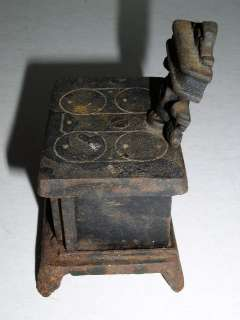 Vintage Cast Iron Cook Stove Bank, DOT