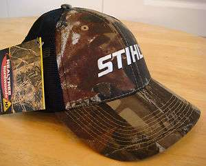 Hardwoods Camo Fabric with Black Mesh Back Hat / Cap White Logo