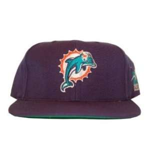 Miami Dolphins Authentic NFL Hat   Navy Blue Sports