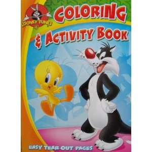 Looney Tunes Coloring and Activity book 96 Pages ~ 1 Book
