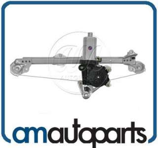 Chevy Malibu Cutlass Power Window Regulator w/Motor REAR RH Right