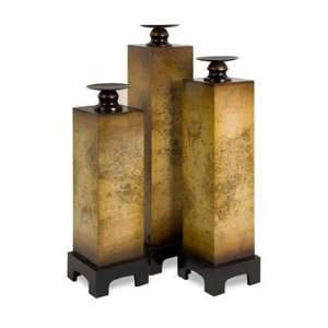 Marco Polo Candle Holder Boxes   Set of 3: Home & Kitchen