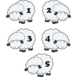 Counting Sheep wall decal removable sticker kids children