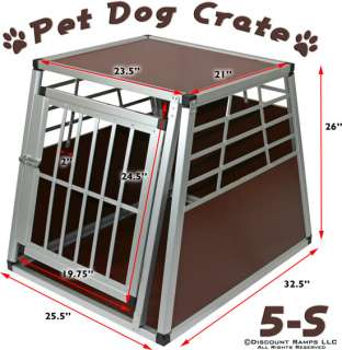 SMALL INDOOR DOG CAT CAGE CRATE PORTABLE KENNEL HOUSE (PET CAGE 5 S