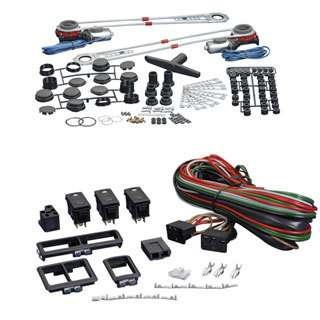 SPAL DELUXE POWER WINDOW KIT W/ SWITCHES HIGH QUALITY