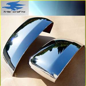 2011~ 2012 Jeep Grand Cherokee Chrome 2 Door Rear View Mirror Covers