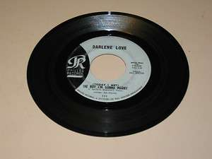 ROCK & ROLL 45RPM RECORD DARLENE LOVE PHILLES 111