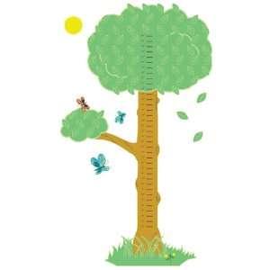Wall Hugs Tree Growth Chart Wall Decal