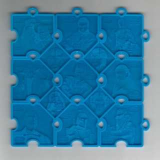 STAR WARS FRITO LAY 3 D PUZZLE PIECES Episode 2 BLUE