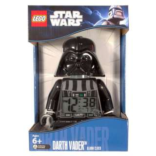 Lego Star Wars Darth Vader Mini Figure Alarm Clock 830659002113