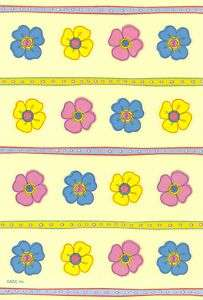 American Greetings Mini Spring Flowers Garden Stickers