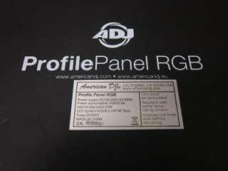 ADJ AMERICAN DJ PROFILE LED LIGHT PANEL RGB _ 8 3405