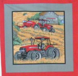CASE INTERNATIONAL HARVESTOR TRACTOR FARM FABRIC PANEL