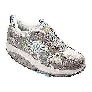 Womens Action Packed Fitness Shoe   Gray/Turquoise  Skechers Shoes