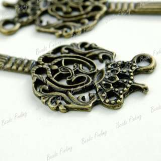 5pcs Wholesale New Key Home Garden Pendants Vintage Style Antique