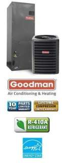 Ton 15 Seer Goodman Heat Pump System   SSZ140301   AVPTC31371