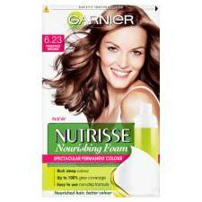 Garnier Nutrisse Foam 6.23 Frosted Brown   Groceries   Tesco Groceries