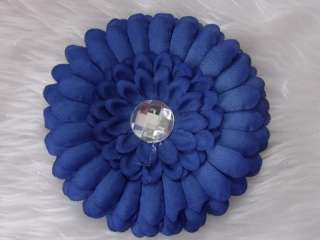 10cm Gerbera Flower Hat Hair Beanie Headband Clip NEW