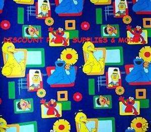 Sesame Street Big Bird Gift Wrap Paper Roll 12.5 SQ Ft