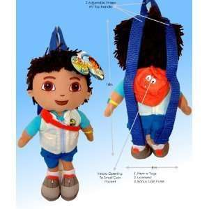 Go Diego Doll Rescue Backpack 14 Plush Doll