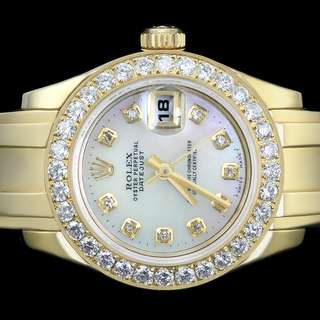 Rolex PearlMaster Masterpiece 18kt. Yellow Gold Diamond Pearl