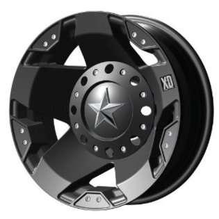 XD Series Rockstar Dually XD775 Matte Black Wheel