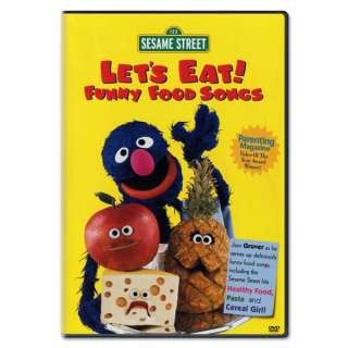 Lets Eat! Funny Food Songs DVD  Shop Ticketmaster Merchandise