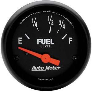 Auto Meter 2642 Z Series 2 1/16 Short Sweep Electric Fuel Level Gauge