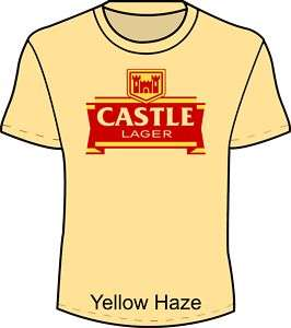 Castle Beer Lager T Shirt Old Style Retro Cool up to 5X
