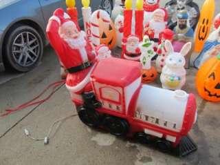 Blowmolds Halloween Christmas Easter Blow Molds Plastic Figures |