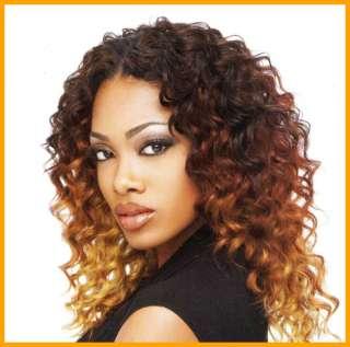 100% Human Hair Sensationnel Deep Wave 12 Weave Track