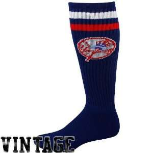 New York Yankees Navy Blue Vintage Logo Tube Socks Sports