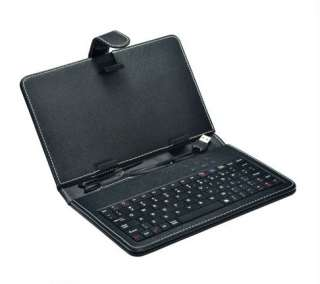 NEW Leather Stand Case Cover & USB Keyboard for 7 Inch Tablet PC MID