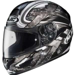Shock Mens CL 16 Street Racing Motorcycle Helmet   MC 5 / 3X Large