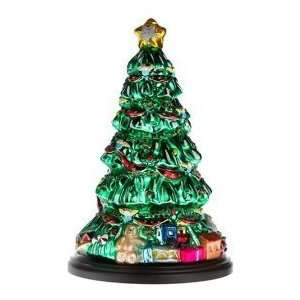 Pacconi Hand Painted Glass 16 Inch Christmas Tree Everything Else