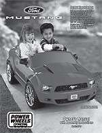 Power Wheels Fisher Price Ford Mustang   Power Wheels
