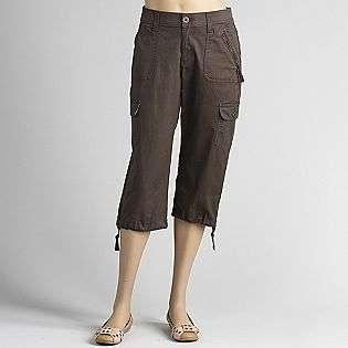 Womens Twill Cargo Capri Pants  LEE Clothing Womens Capris