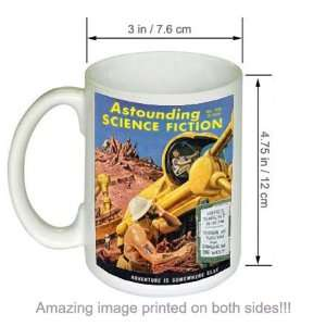 Astounding Science Fiction Vintage Cover Art COFFEE MUG