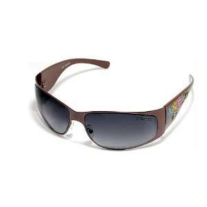 Como Ladies Brown Sunglasses With Metal Frame and Plastic