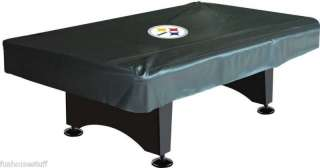 Pittsburgh Steelers 8 Pool / Billiard Table Logo Cover